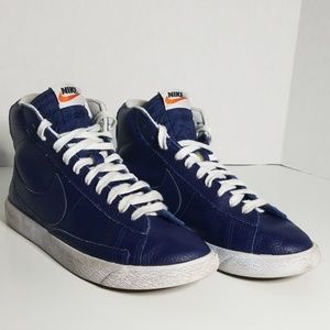 a1fec2e42002 Kids  Blue Nike Blazer on Poshmark
